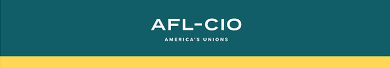 AFL-CIO banner